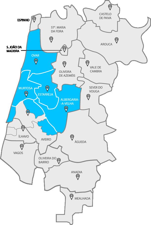 Mapa Gal Norte