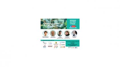 Webinar | A Digitalização nas Comunidades Locais – 23 de Fevereiro às 17h30